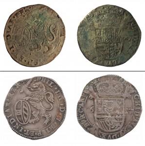 Münzen im Vergleich